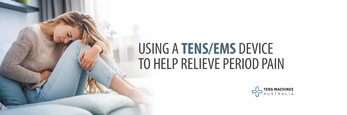 TENS/EMS for menstrual pain